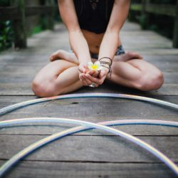 Hoop Yoga: To Strengthen The Core
