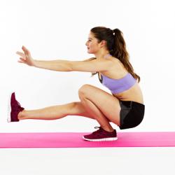 The One-Leg Squat: For Improving Leg Strength