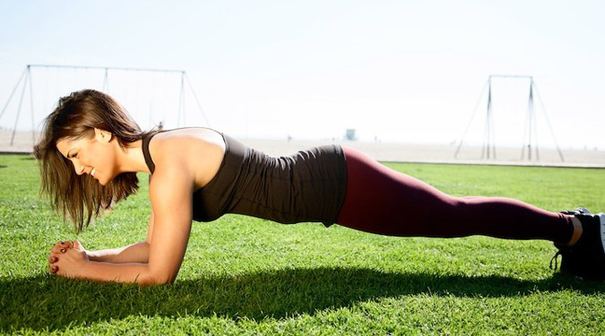 Plank abs