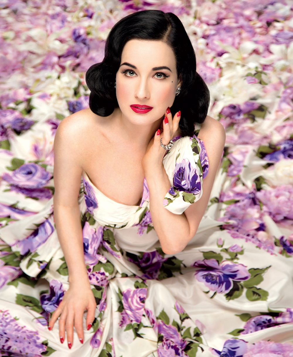 58614eddad10 Burlesque Queen Dita Von Teese Shares Her Fitness   Beauty Secrets ...