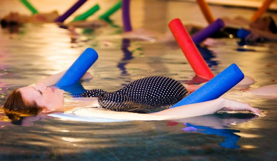 Aqua Yoga For Labor
