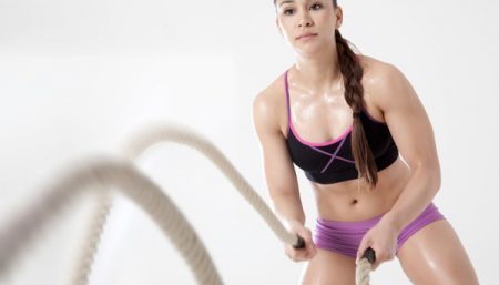 Battle Rope Workout