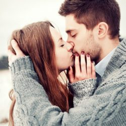 Christmas Kissing Good For Health
