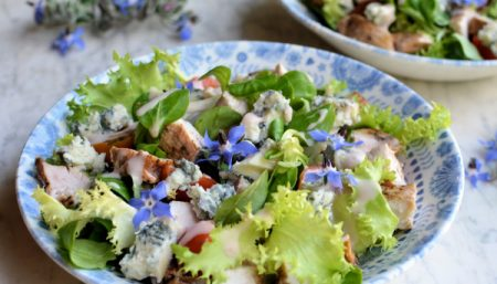 Grilled Chicken Salad With Lavender