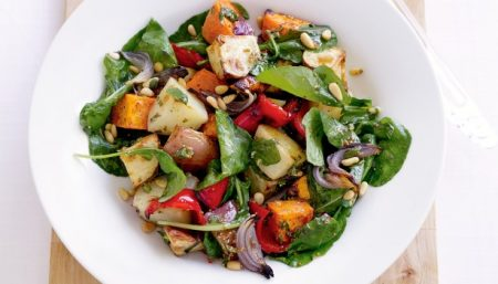 Potato-Mixed Vegetable Salad