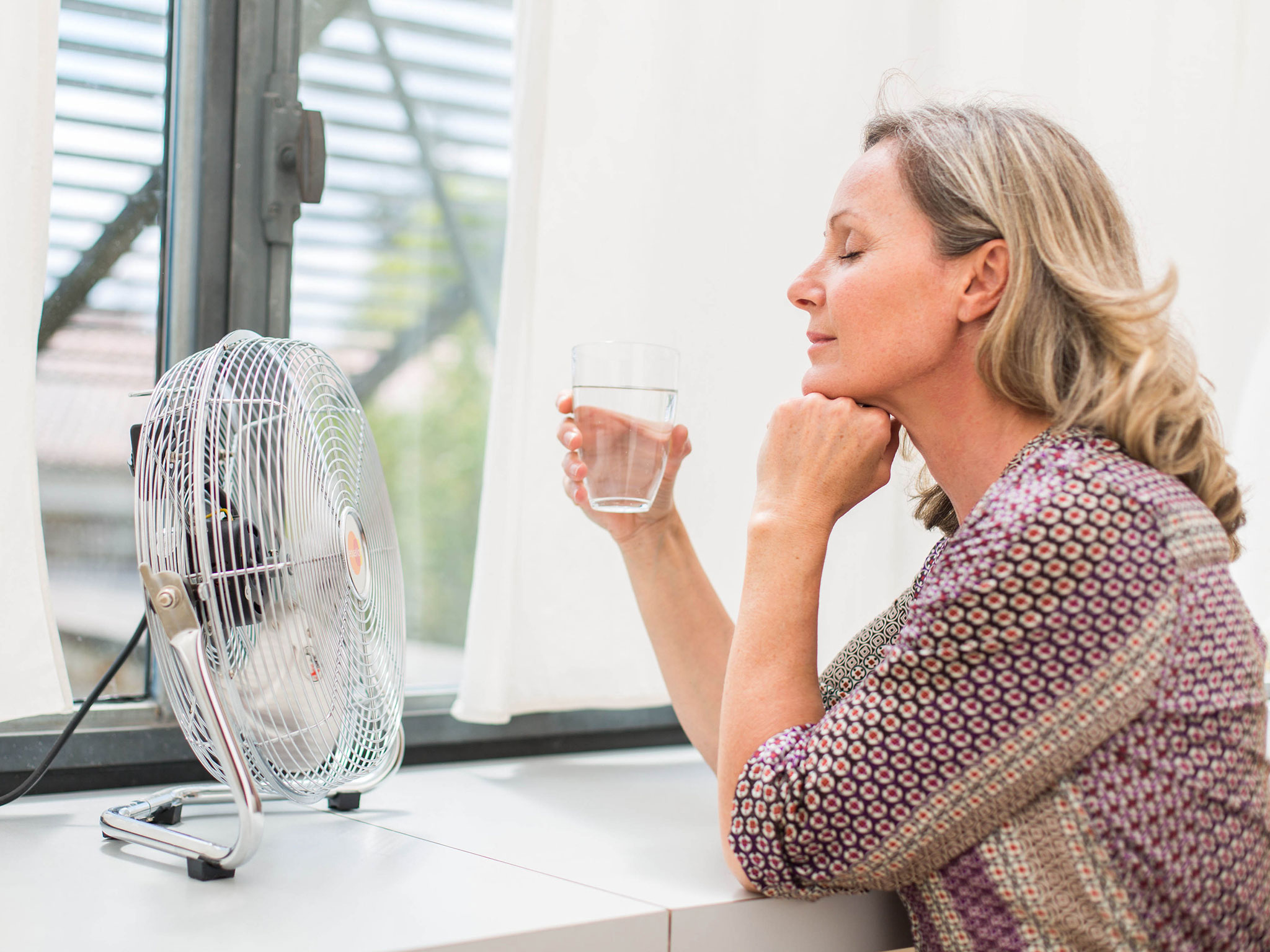 How to cure hot flushes if you're going through the ...
