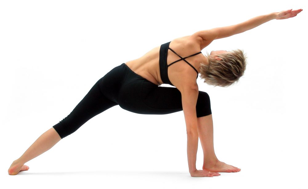 lateral bending pose