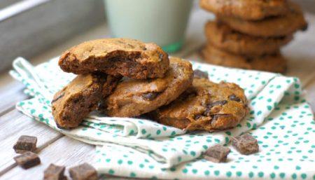 Date, Walnut and Dark Chocolate Cookies