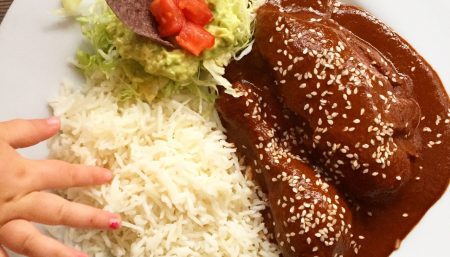 Simple Chicken Mole
