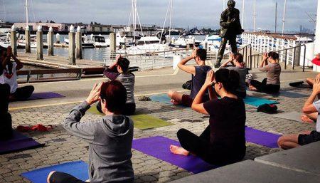 community-based fitness classes