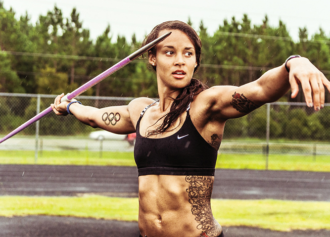 Heptathlete Chantae McMillan Shares Her Journey To Living ...
