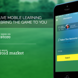 InhomeSports Launches iOS and Android App Connecting Fitness and Golf Enthusiasts with Live Video Call Instruction from Qualified Teachers