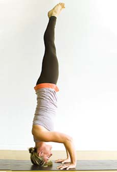upside down poses for a healthier you