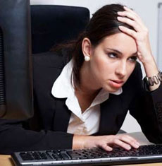 Pictures of Stressed Out People