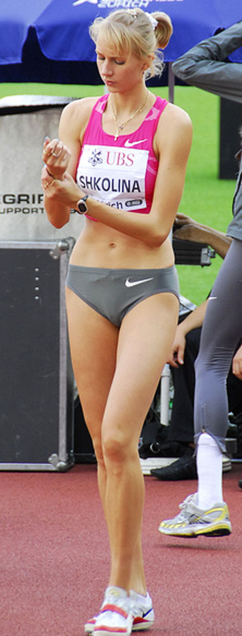 Svetlana Shkolina World Champion Women High Jump : Diet ...