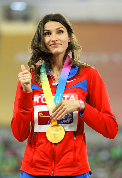 Anna Chicherova - Top Five hottest and fittest women high jumper