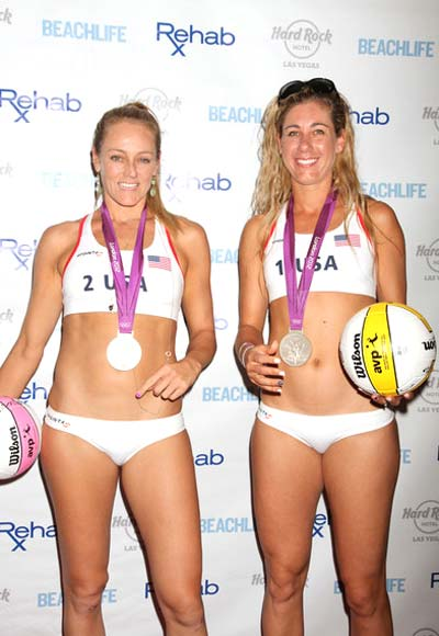 Jennifer Kessy & April Ross is Most stunning 2013 Beach Volleyball Pair in the World