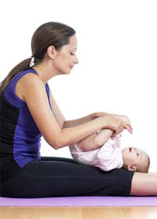 Exercise Suggestions for an Infant