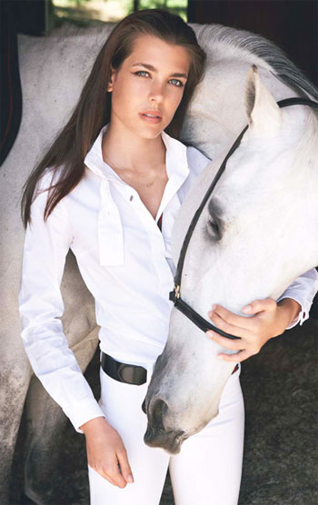 Princess Charlotte Casiraghi, Monaco : Most Beautiful Princesses.