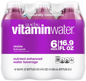 vitaminwater revive, 6 ct, 16.9 FL OZ Bottle