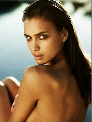story model irina shayk beauty tips secrets