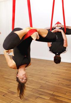 aerial yoga an experiment with yoga