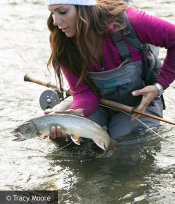 April Vokey: World leading angler reveals her motto life is too short to not follow your dreams