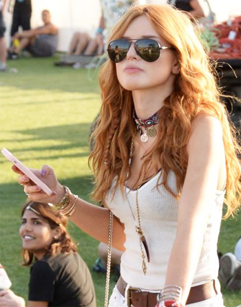 2015 Coachella Valley Music and Arts Festival: Celebrities Show their Best of Physique