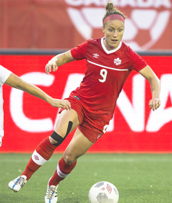 "Josee Belanger: Exceptionally Talented Canadian Soccer Player Reveals her Success Mantra ""Work & Discipline is the bridge between Goal and Accomplishment"