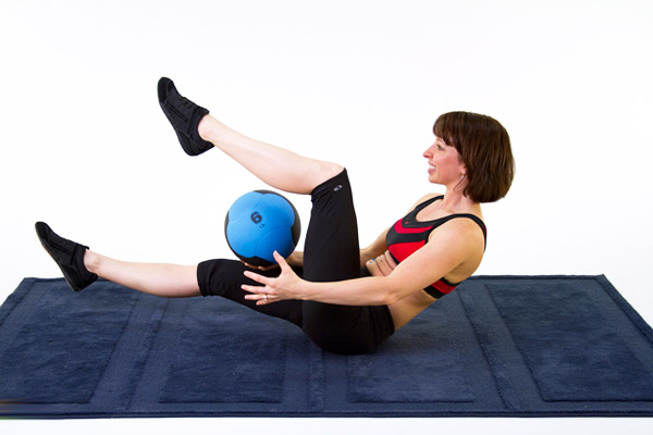 Medicine ball Workout for Lower Back