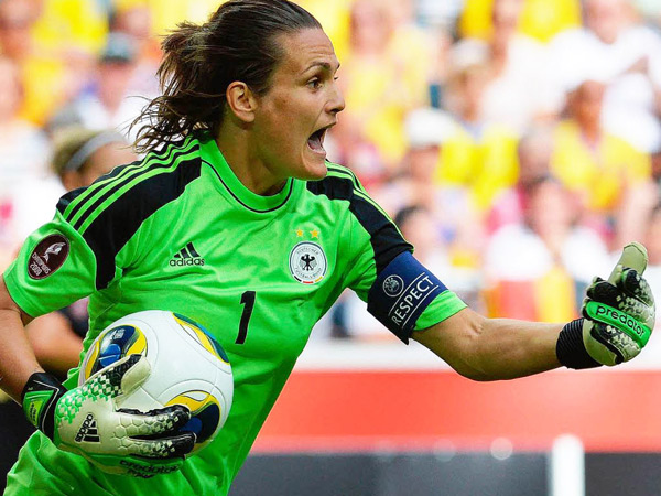 "Nadine Angerer: Worlds Best Football Goalkeeper Reveals her Success Mantra ""Train Hard and Listen to People you Trust"""