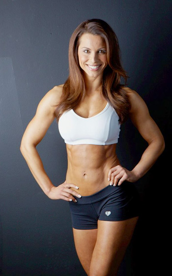 Jelena Abbou: World Leading: Figure Competitor, Model and Personal Trainer Reveals her Workout, Diet and Beauty Secrets
