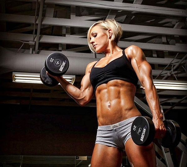 The word sexy body builder woman picture post. Love