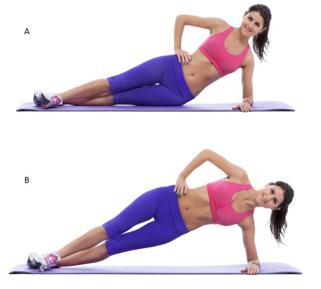 5 O..blique  Exercises for a Slimmer Waistline