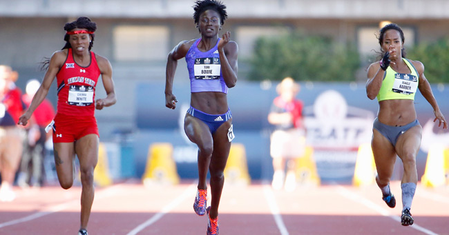"Tori Bowie: Exceptionally Talented Sprinter, Track and Field Athlete Reveals her Success Mantra ""Allow yourself to make mistakes, but also be humble enough to correct those mistakes"""