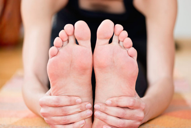 Top 10 Yogasanas for the Feet