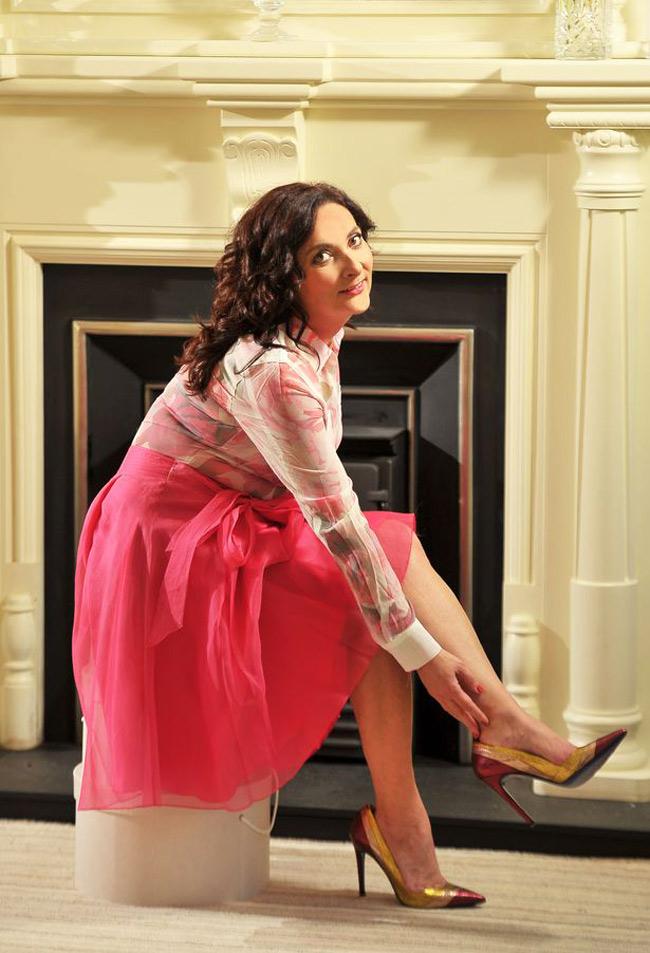 Anita Flavin A Top Notch Irish Shoe Designer And Fashion