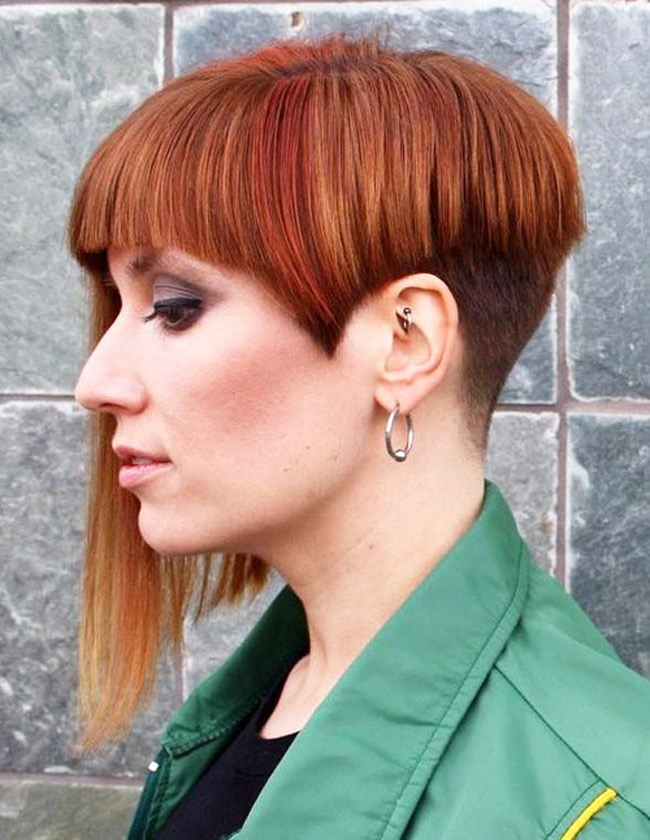 Women Hairstyle Trend In 2016 Undercut Hair