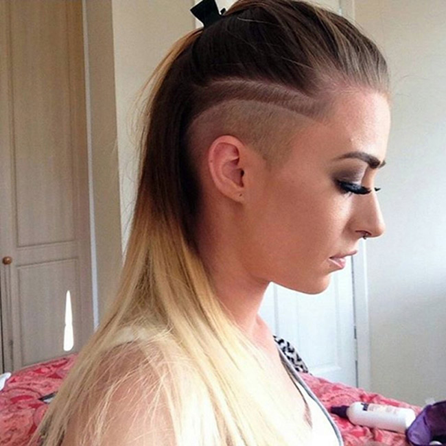 women hairstyle trend in 2016 undercut hair page3. Black Bedroom Furniture Sets. Home Design Ideas
