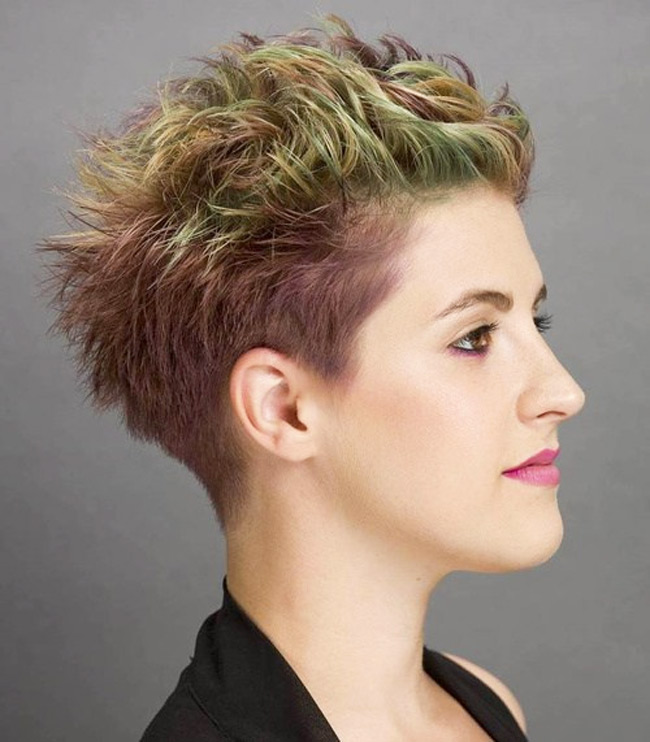 Women Hairstyle Trend in 2016: Undercut hair
