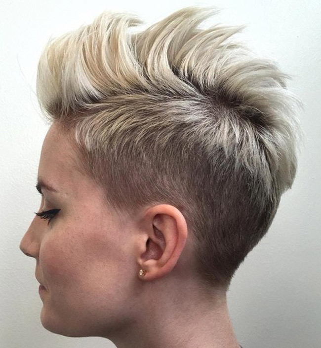 how to grow out a female mohawk