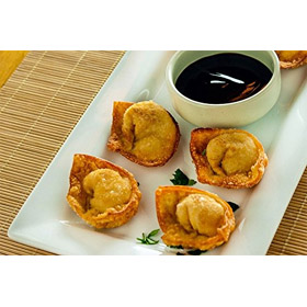 Crab Rangoon - Gourmet Frozen Apptetizers (35 Piece Tray)