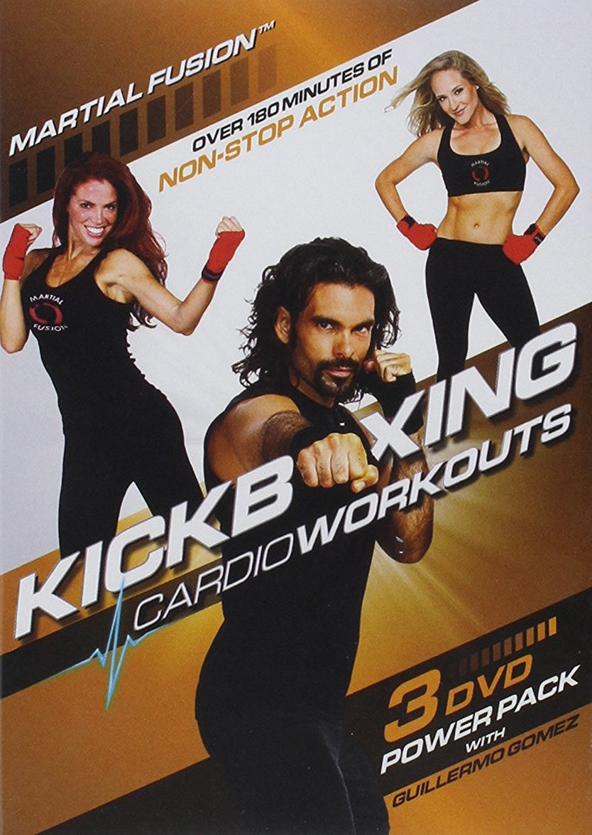 Kickboxing Cardio Workouts 3 DVD Power Pack for Fat Burn ...