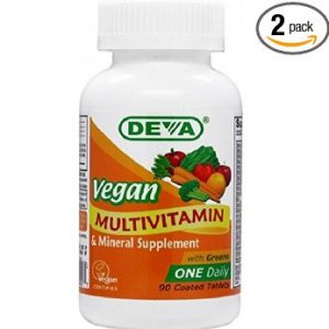 Deva Vegan Vitamins Daily Multivitamin