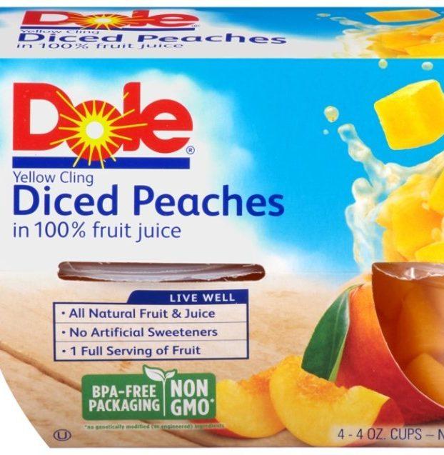 Dole Fruit Bowls, Mandarin Oranges in