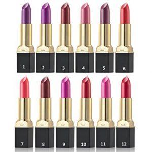 EVERMARKET Set Of 12 Velvet Lipstick