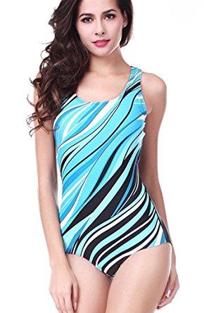b41b2c69b2 CharmLeaks Women s Pro One Piece Swimsuit - WF Shopping