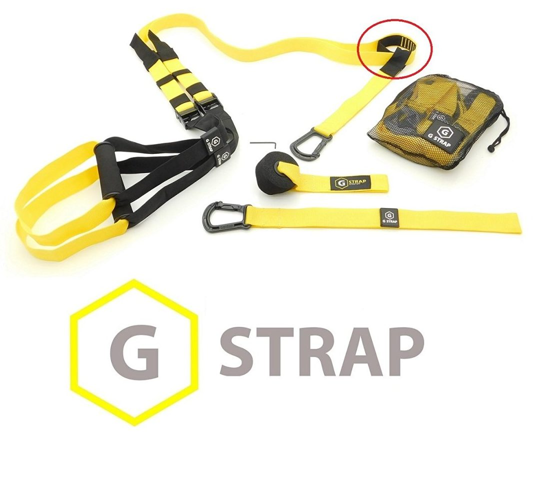 Gymstuff Green G-Strap Pro Home Workout Training