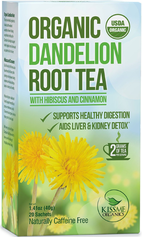 Dandelion Root Tea Raw Organic Vitamin Rich Digestive 1