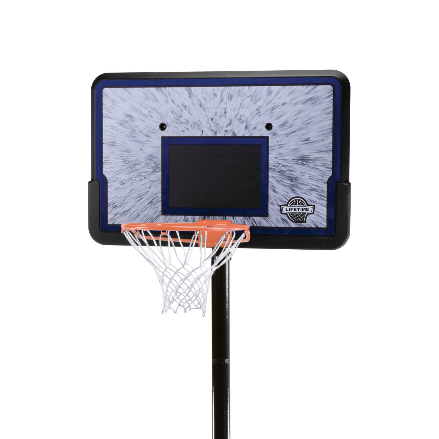 Lifetime 1221 Pro Court Height Adjustable Portable Basketball System Wf Shopping